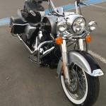 Moto américaine à Rennes