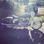 Harley Davidson Roadking de David Jazt en novembre 2015