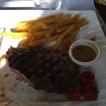 pièce du boucher au restaurant du golf de saint malo
