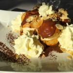 dessert au restaurant du golf de saint-malo