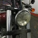 laver une Harley Davidson