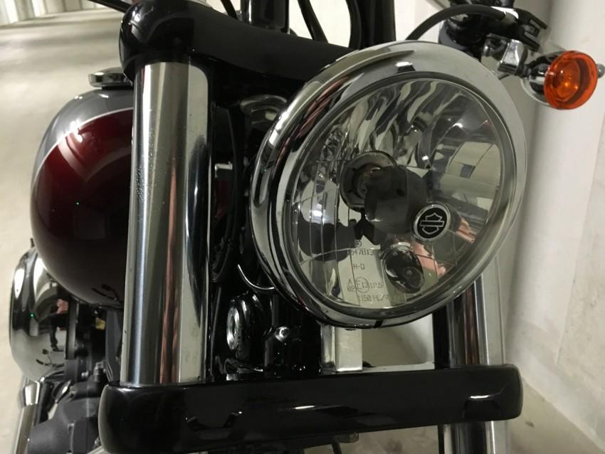 phare de Harley davidson