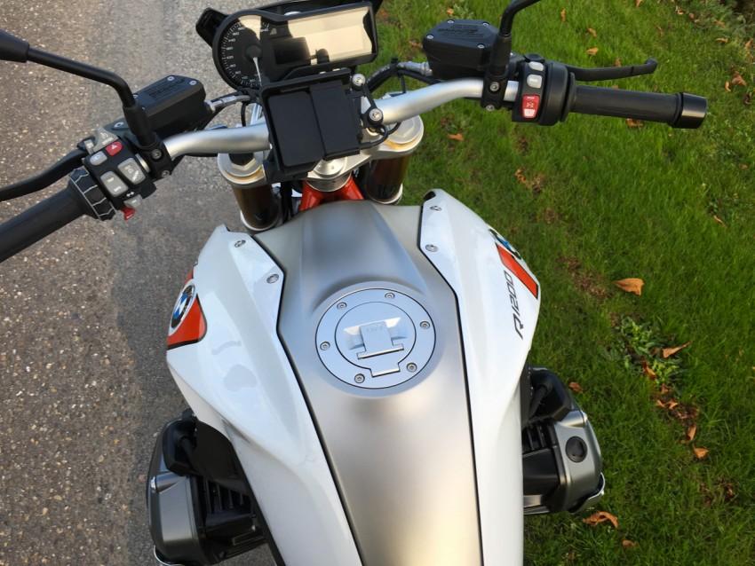 moto Allemande en moto d'essai