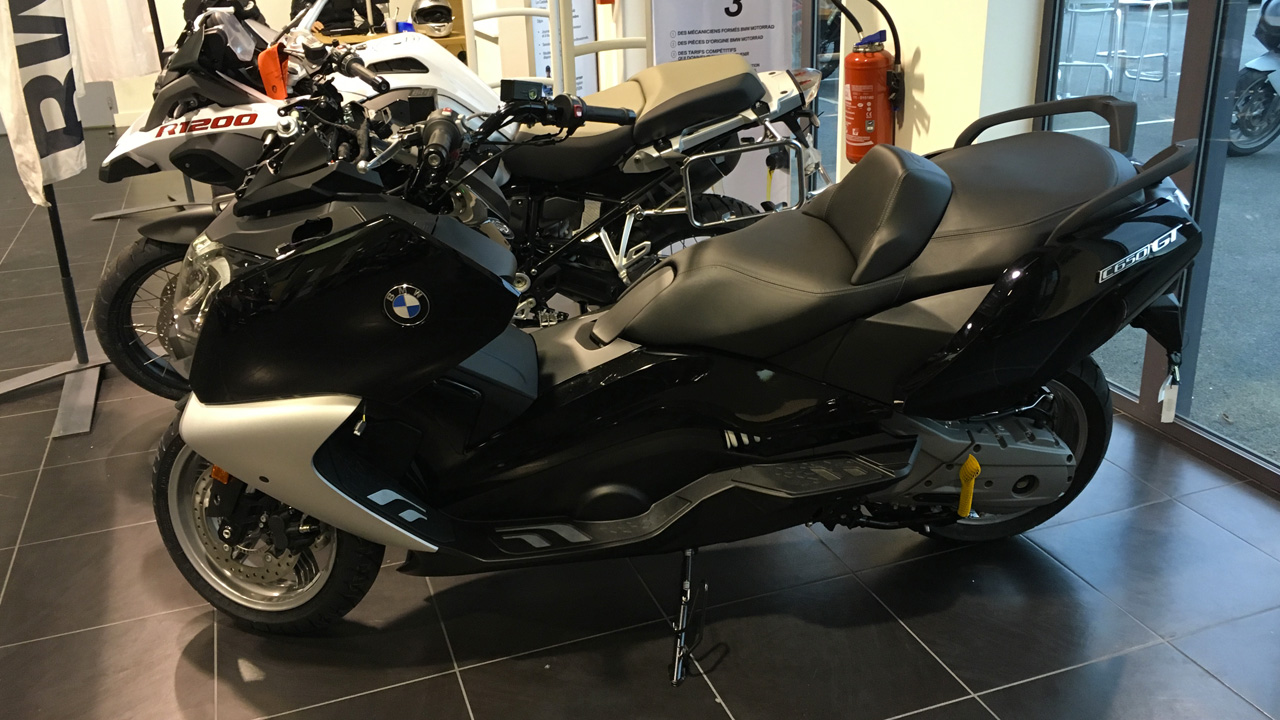 Maxi Scooter C650GT BMW
