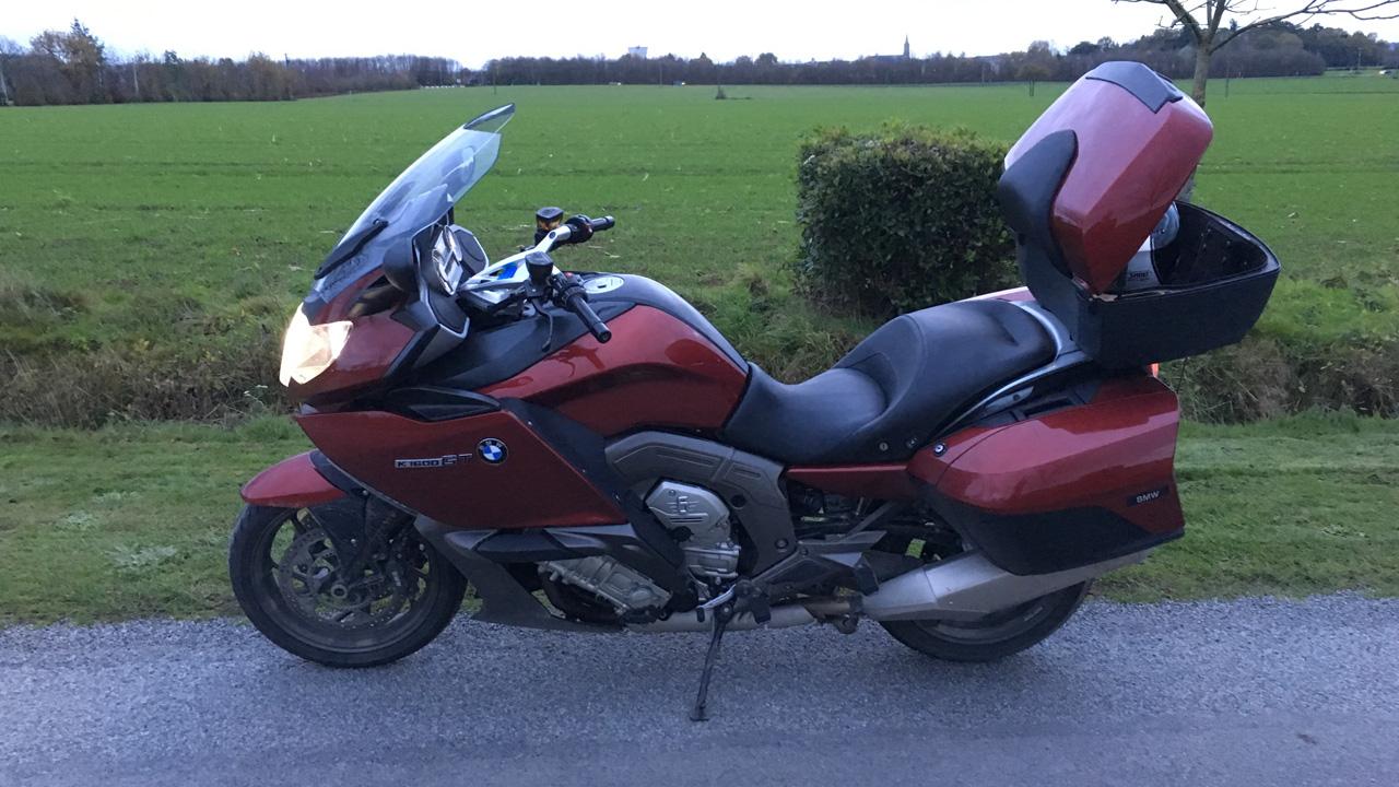moto BMW K 1600 GT de 2011