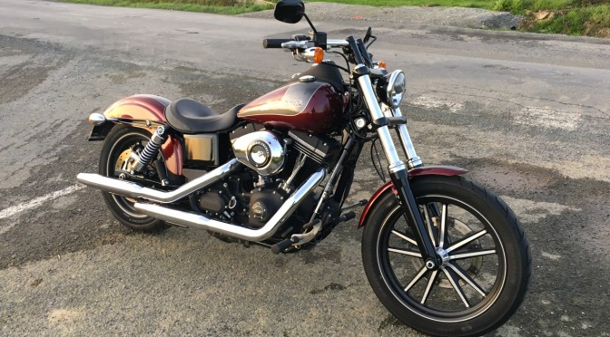 tour de moto Harley