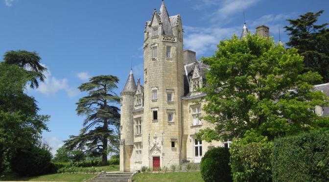 Chinon en bord de Loire