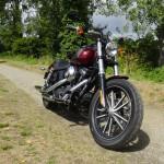 moto Harley Davidson à Rennes