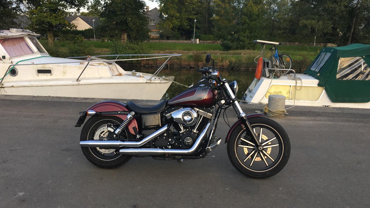 Harley Davidson Street Bob de David Jazt