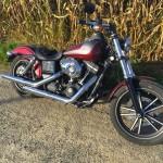 Harley Davidson de David à Rennes