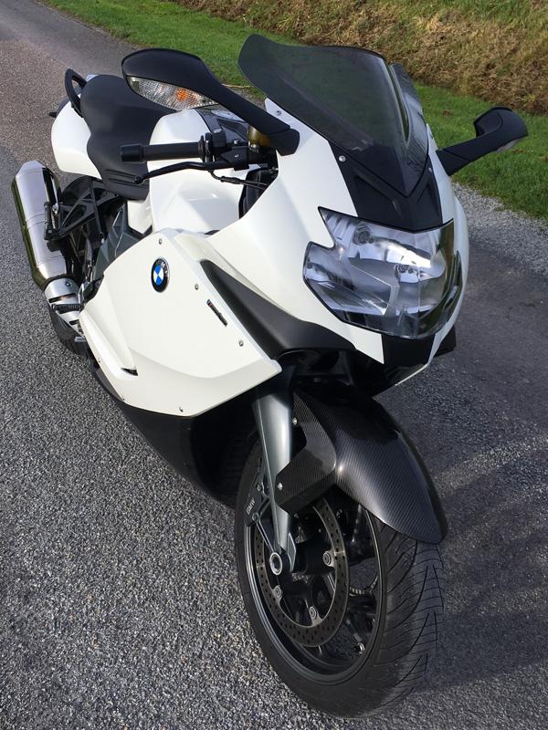K 1300 S BMW blanche