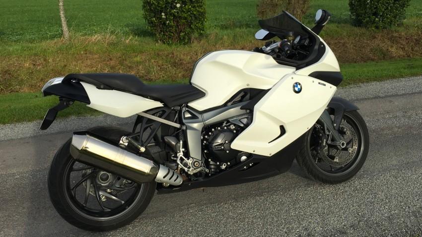 essai moto du K1300S BMW à Rennes