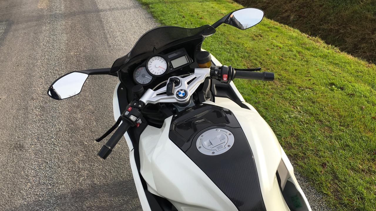vie à bord du K1300S BMW