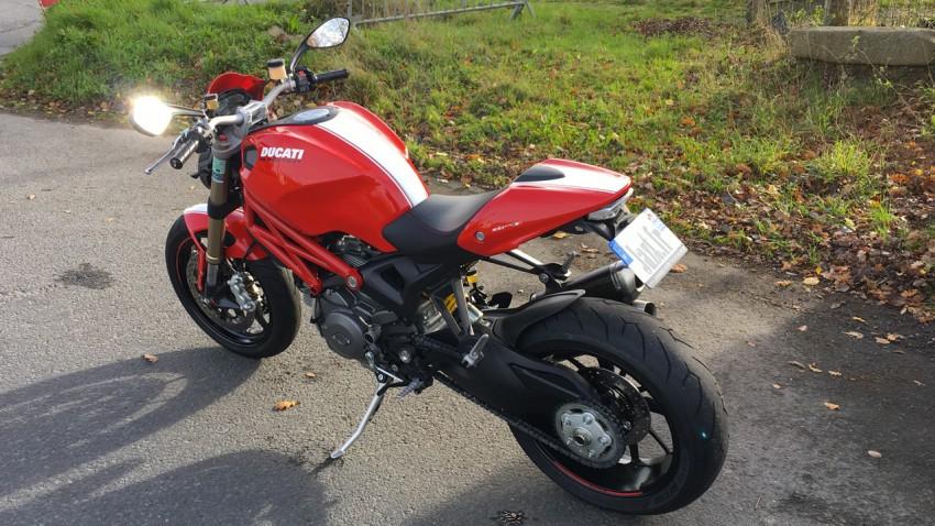 Une Ducati c'est rouge