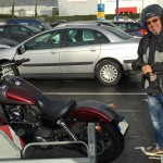 premier essai moto Harley Davidson à Rennes pour Bruno