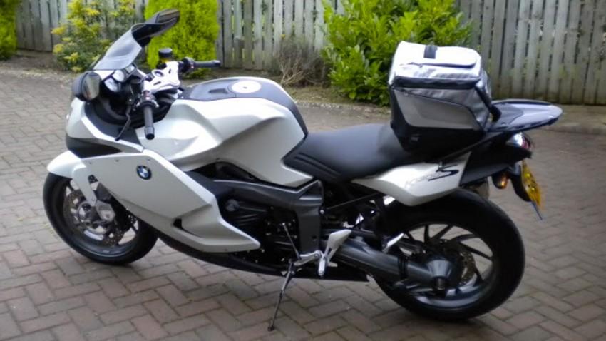 Sac de selle sur le K1300S BMW