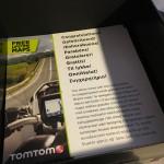 ouverture de la boîte du GPS Tomtom Rider