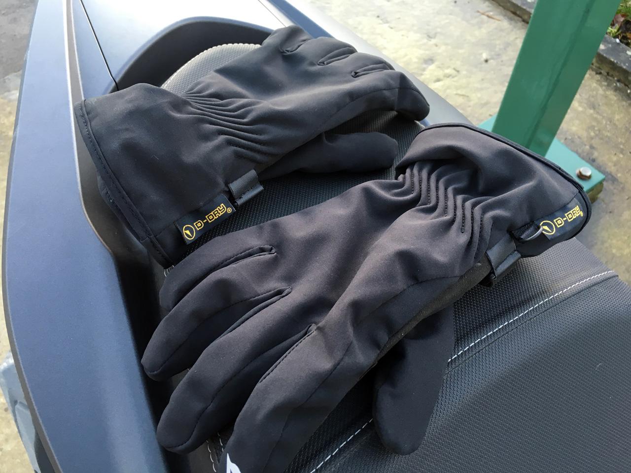 gant de moto léger D-Dry