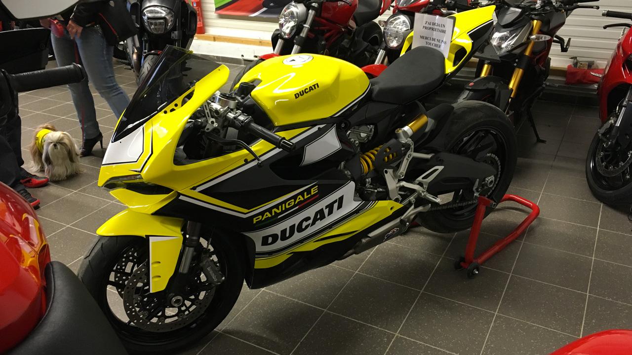 sportive jaune Ducati chez City Bike