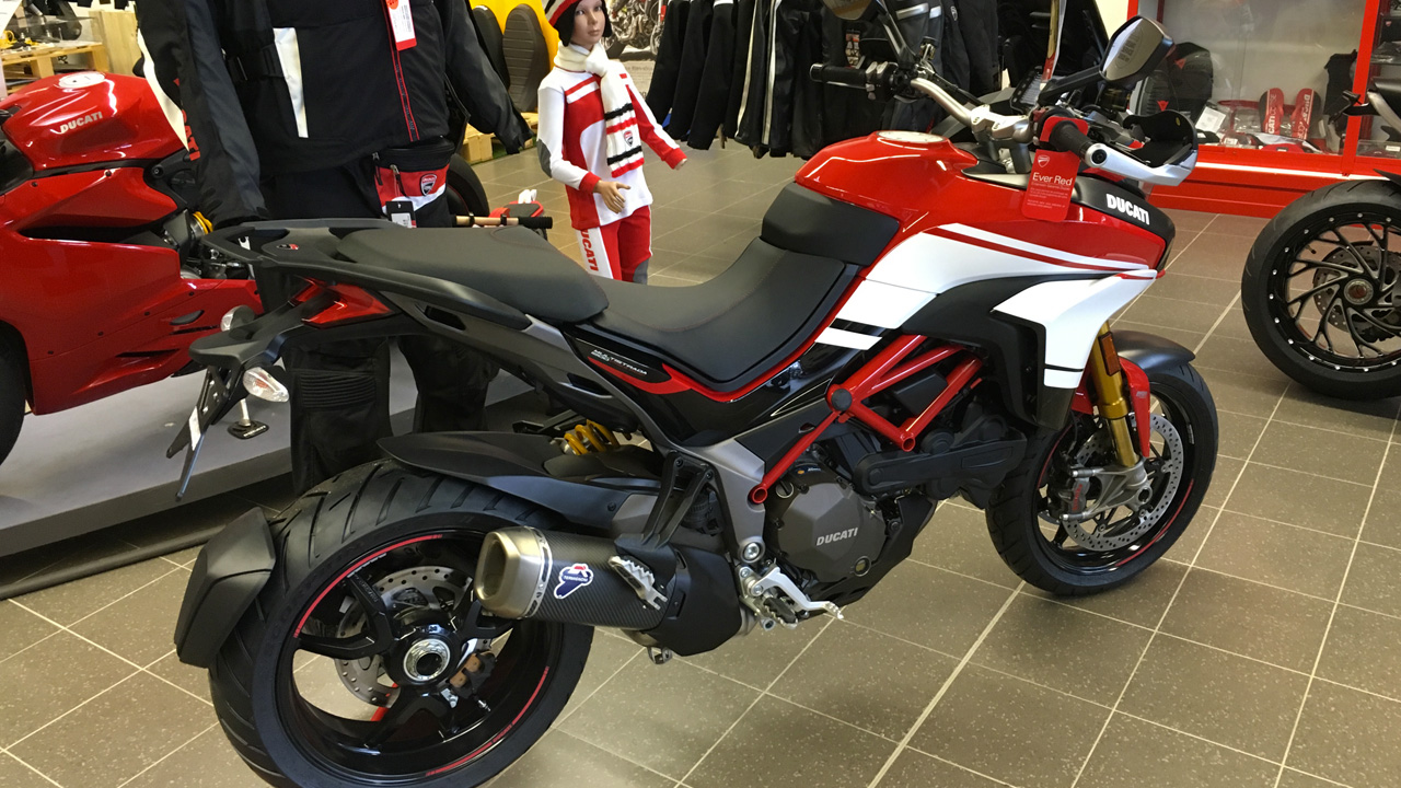 Moto Ducati chez City Bike