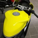 réservoir du 899 Panigale jaune