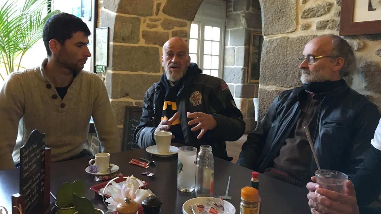 Maxime, Olivier, Jean-François