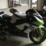 Préparation moto de course