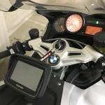 GPS sur moto BMW