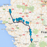 Roadbook Dordogne & Auvergne Moto Tour en juillet 2016 : Jour 5