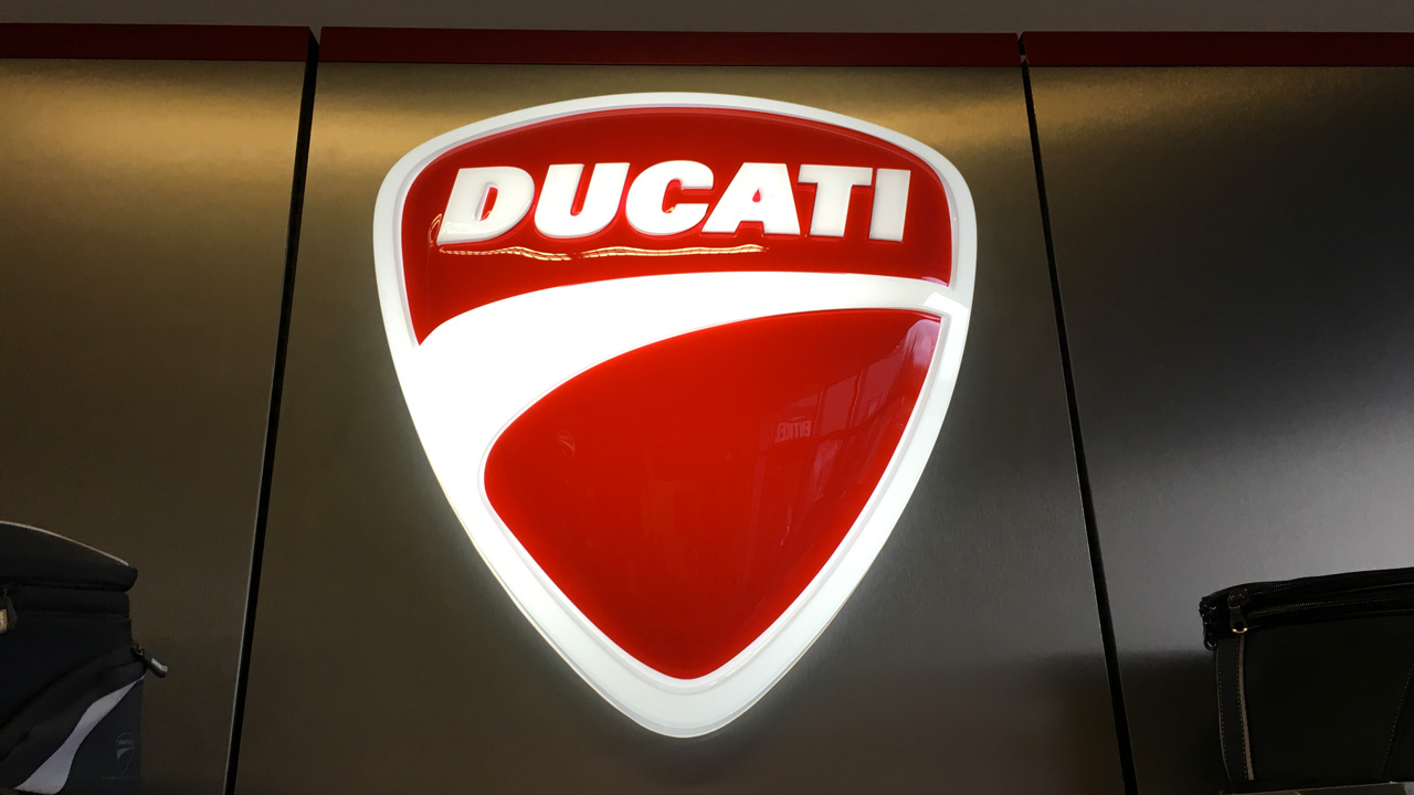 Luminaire Ducati