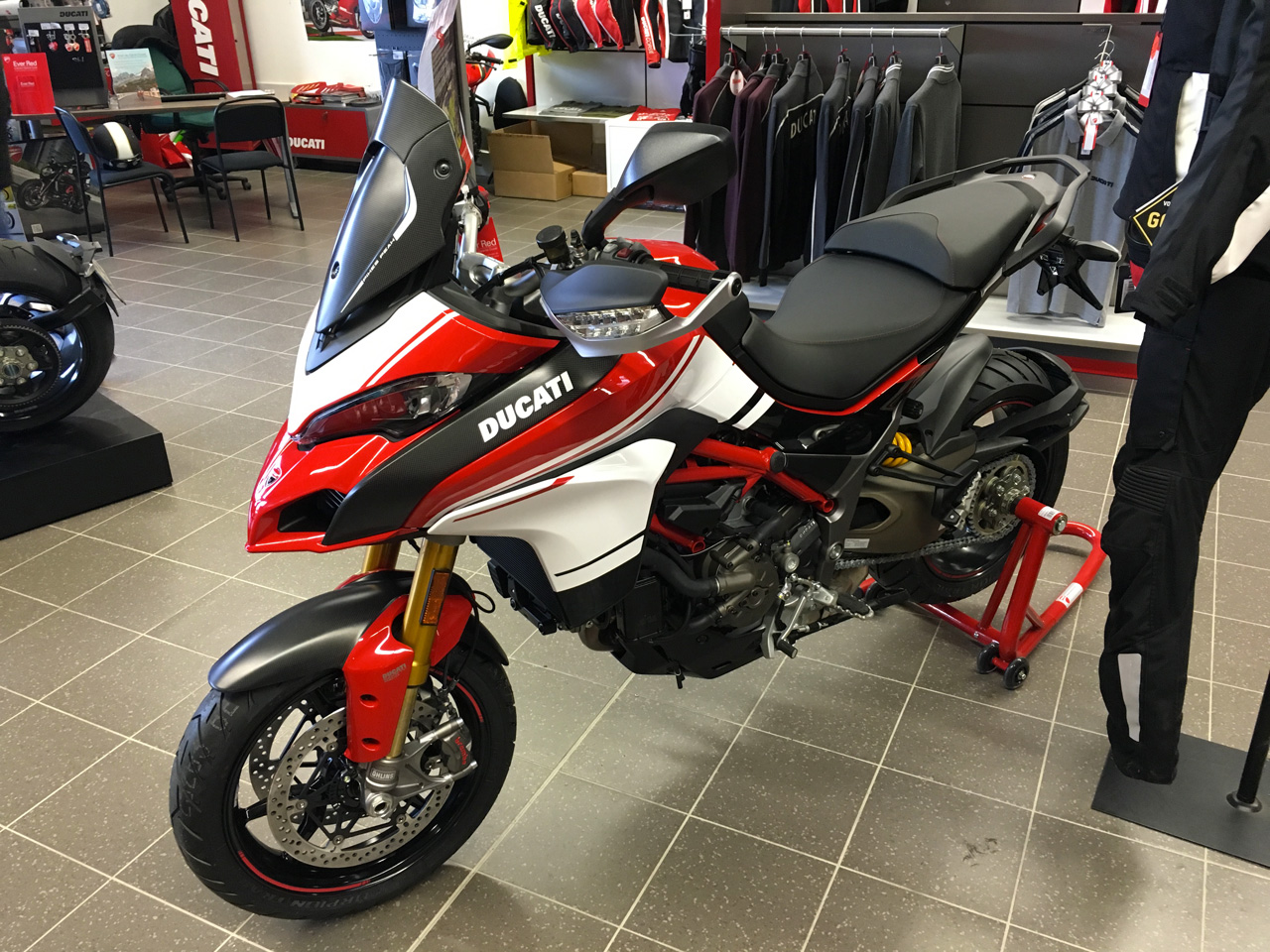 Ducati Multistrada 1200 chez City Bike