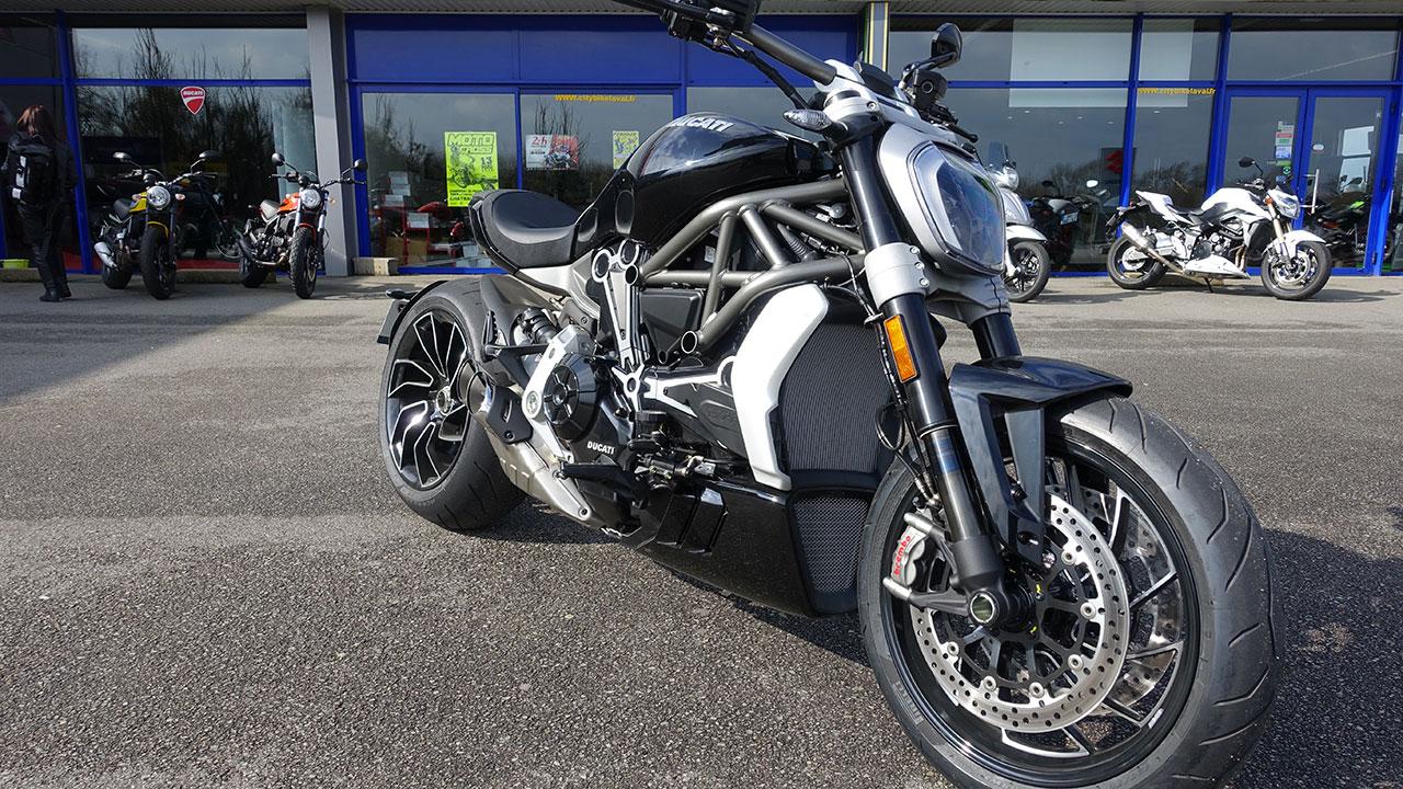 XDiavels à City Bike - Ducati Store de Laval