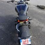 pieds en avant, guidon droit : roadster Xdiavels S de chez Ducati