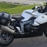 moto BMW équipée du GPS