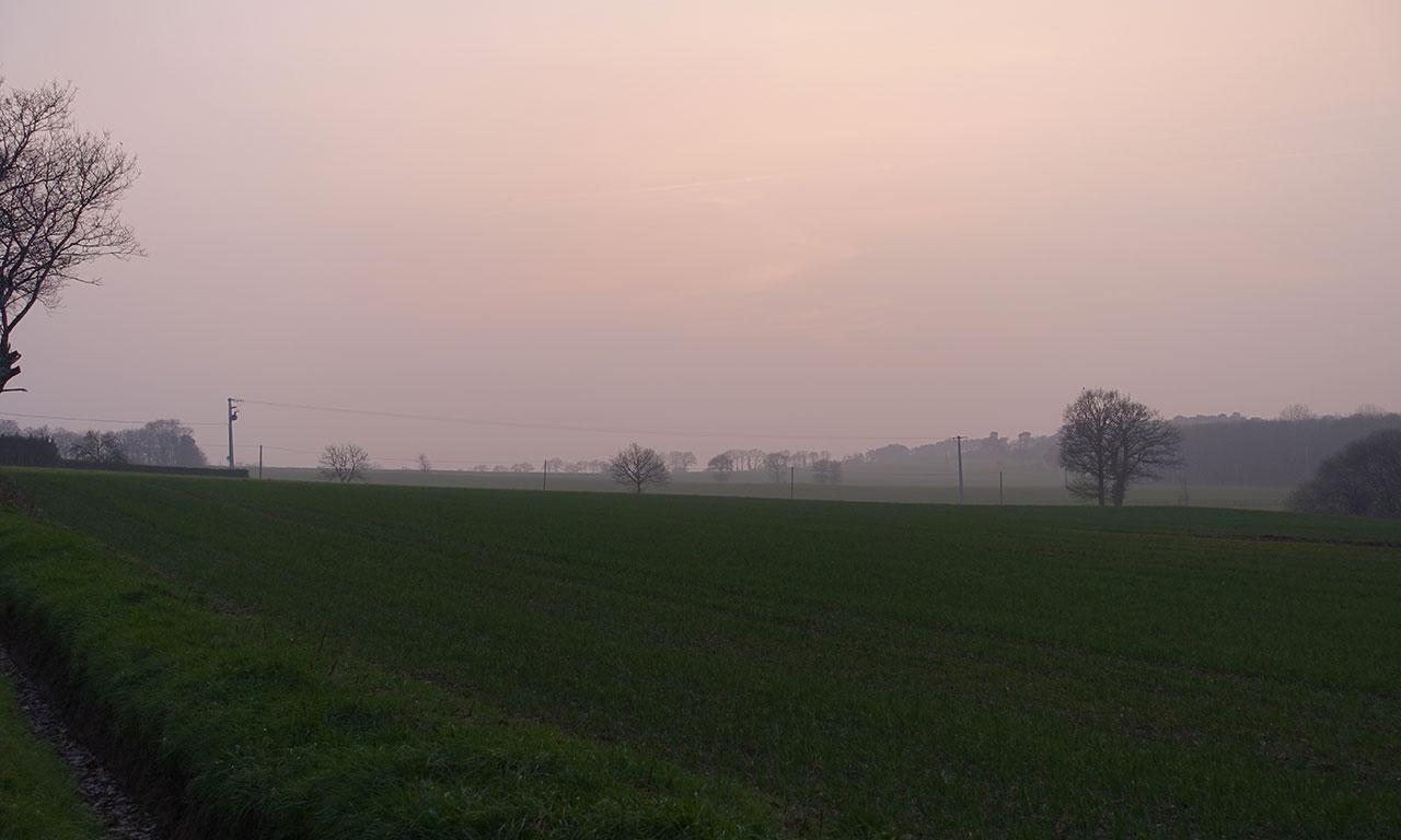 paysage Breton de la campagne Bretonne