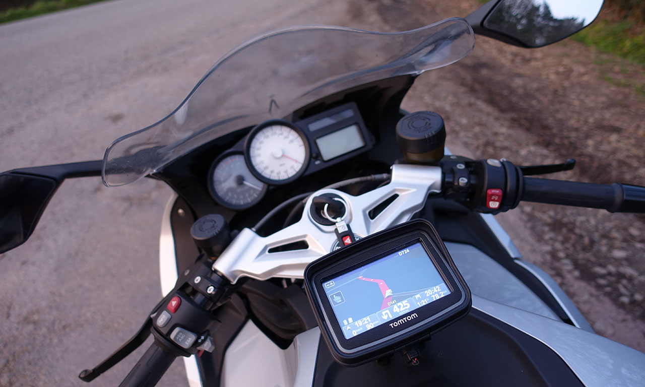 GPS à moto