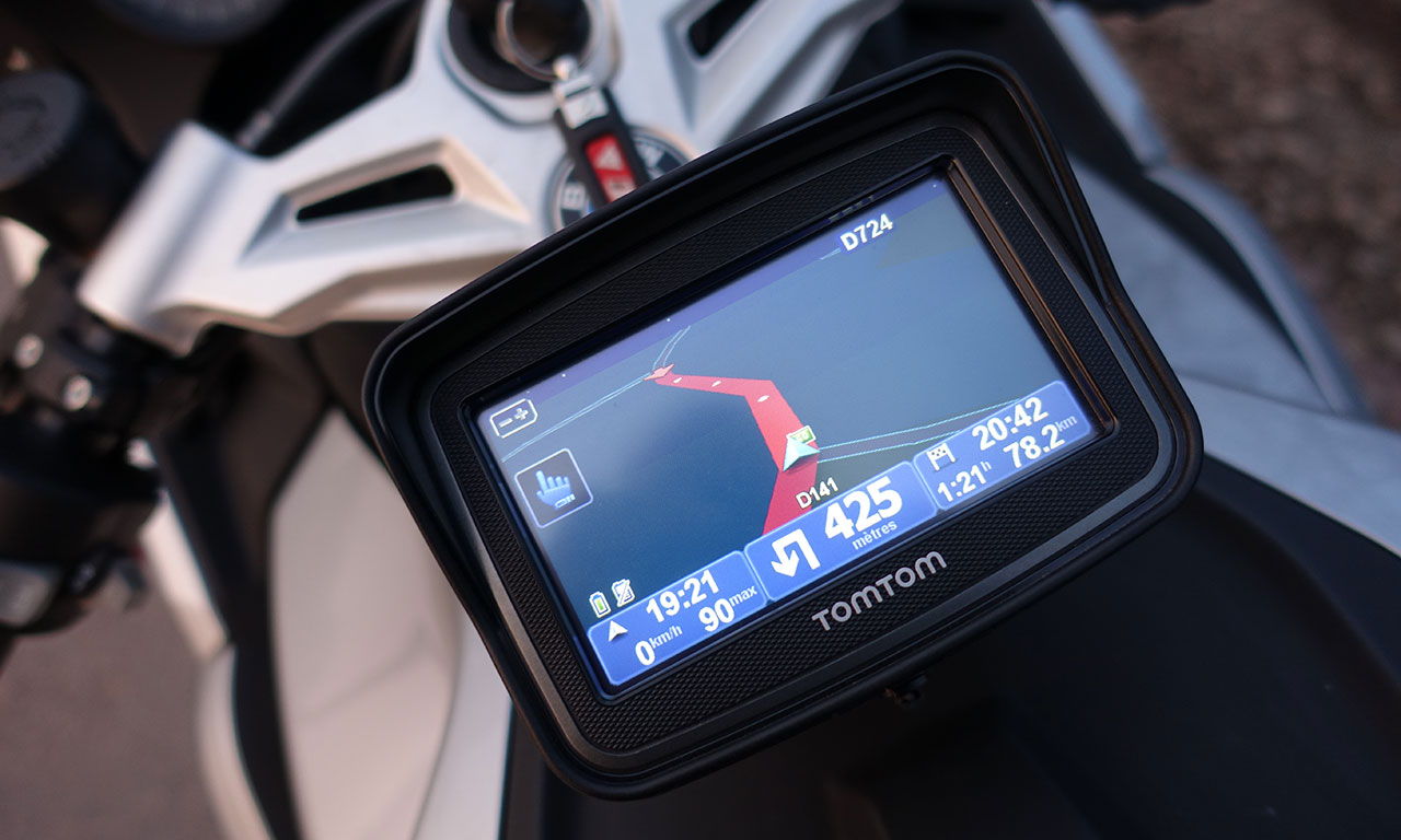 GPS moto TOMTOM