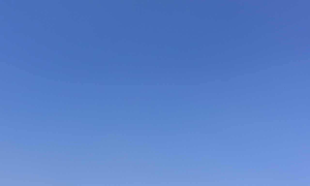 ciel bleu du 13 mars 2016 à Rennes
