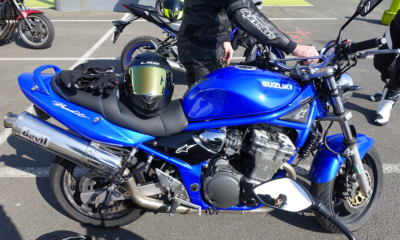 Suzuki Bandit 600 de David