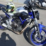 Yamaha MT 07 d'Alexandre