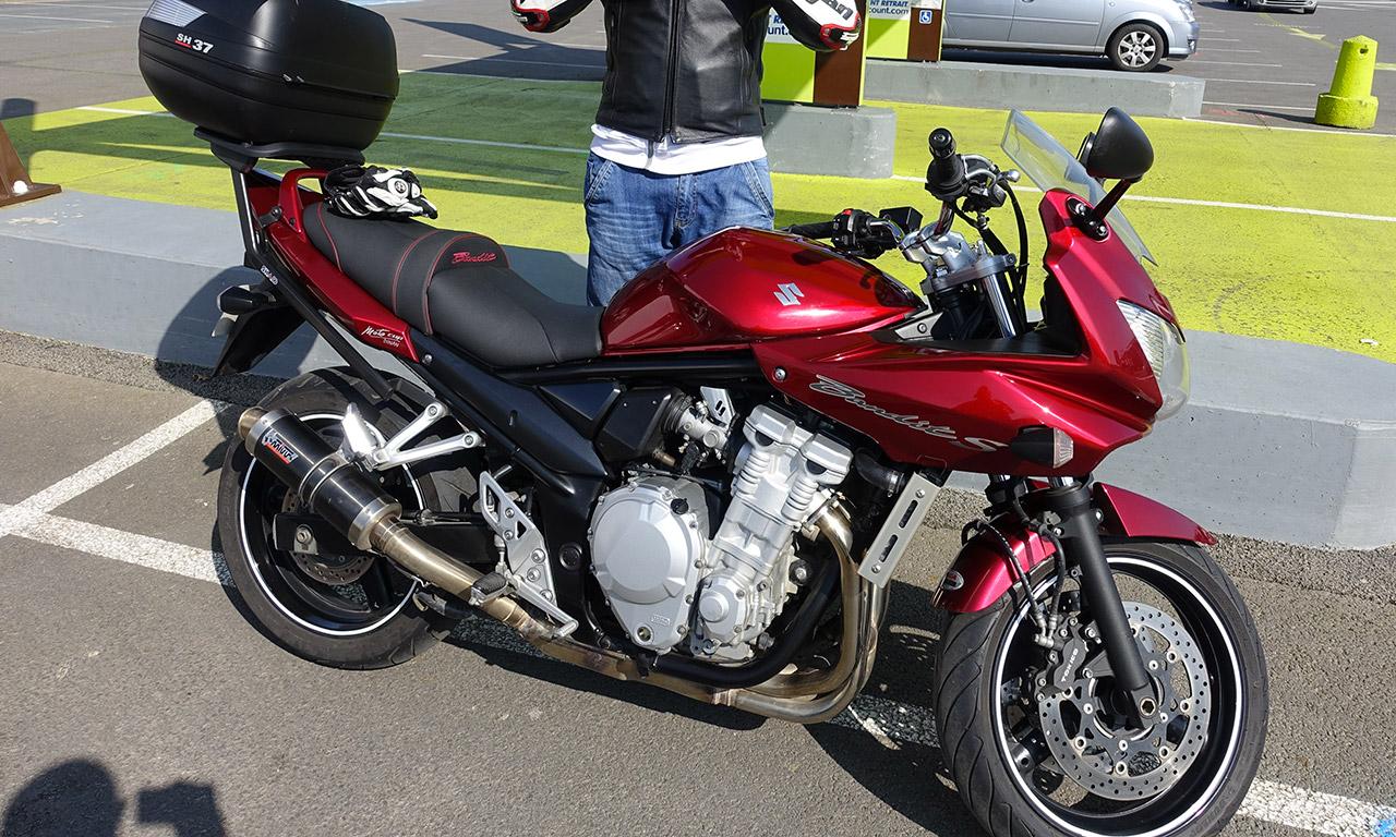 Maxime Suzuki Bandit 650 S