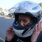Agnès, motarde Rennaise célibataire et libre de tout engagement