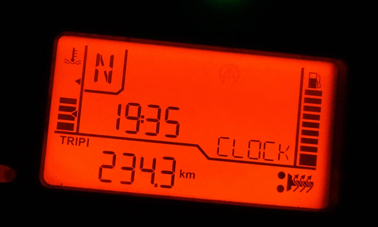250km dans le froid