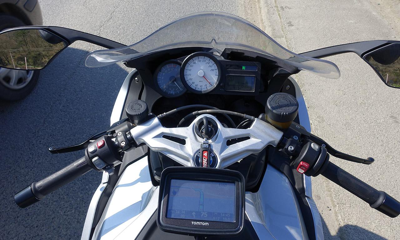 balade moto avec GPS