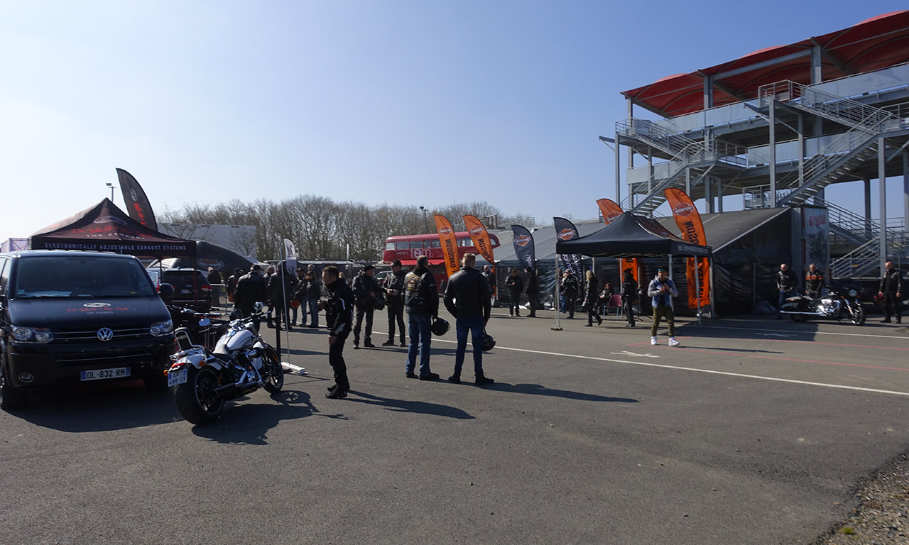 Harley expérience tour 2016 à Lohéac