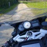 balade moto GPS sur le K1300S BMW