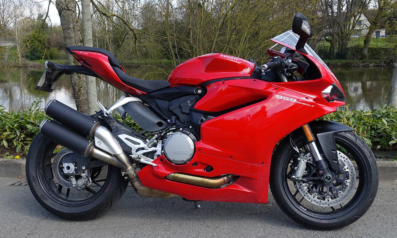 Panigale 959 chez City Bike : Ducati à Laval