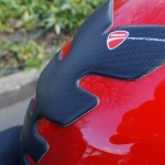 protection carbone réservoir Ducati Panigale