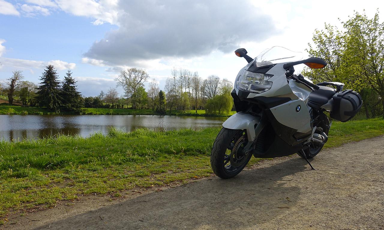 K1300S à l'étang de Melesse