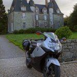 Chateau de montmuran, balade moto rennes